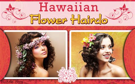 Interesting Nature-inspired Hawaiian Flower Hairstyles To