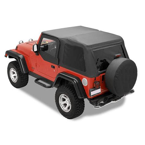 jeep frameless soft top all things jeep jeep wrangler 1997 2006 frameless soft tops