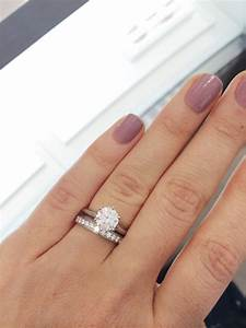 tiffany setting wedding bands weddingbee With engagement ring and wedding band in one