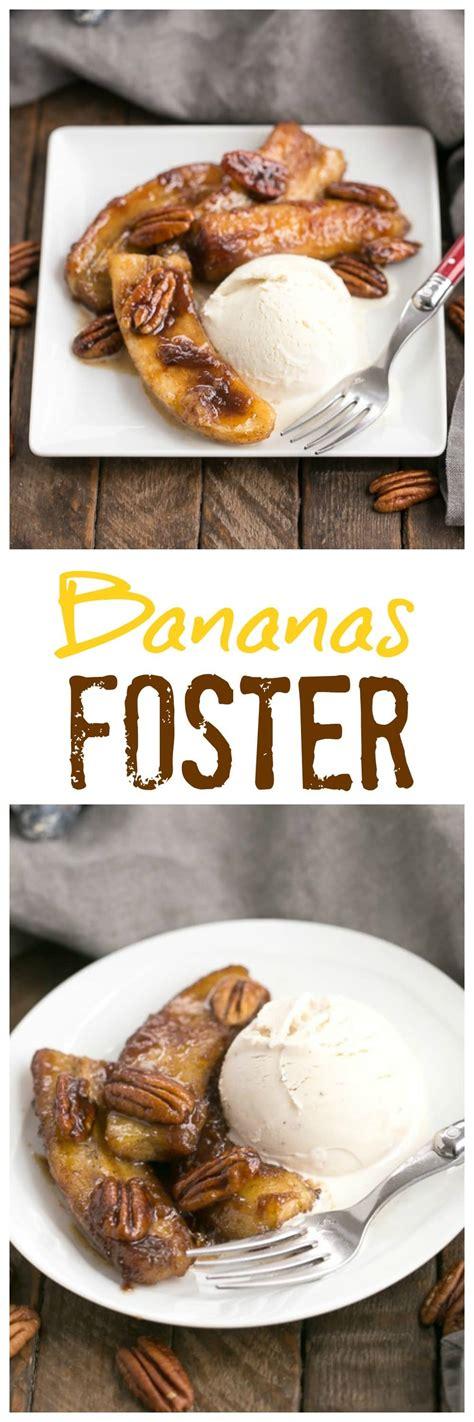 bananas foster sundaysupper  skinny chick  bake