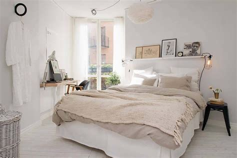 scandinavian bedroom ideas   modern  stylish