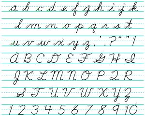 Cursive Writing  Wikis (the Full Wiki