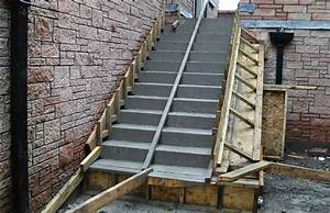 Faire Un Moule Pour Béton : escalier beton conseils de prix conseils pour la finition ~ Melissatoandfro.com Idées de Décoration