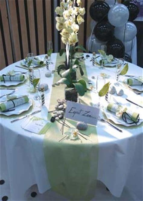 deco de table zen table esprit zen theme de notre mariage deco salle et tables mes gouts maikresse55