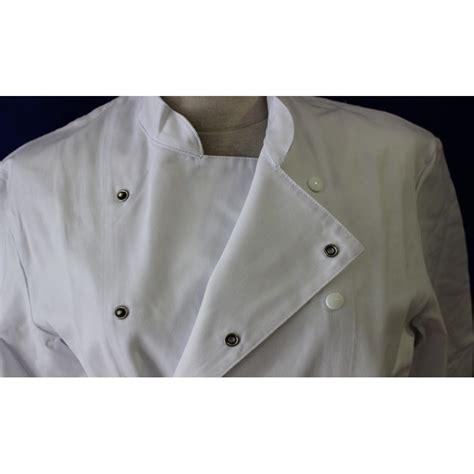 veste de cuisine pas chere veste de cuisine blanche homme 224 manche longue pas cher lisavet