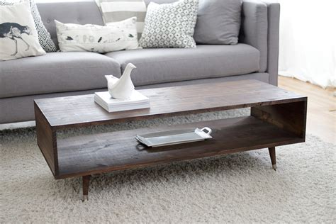 build your own mid century modern coffee table for 60
