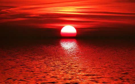 hd red sunset   wallpaper