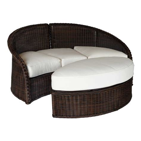 sedona daybed outdoor wicker ottoman