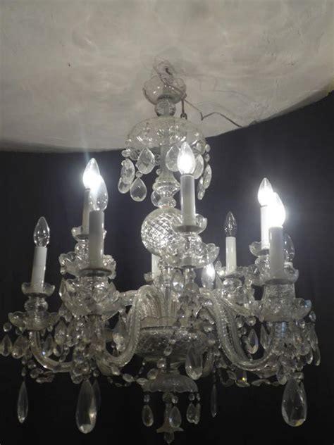 lustre en cristal de boheme lustre a pilles en cristal de boh 202 me quot la boutique opio quot