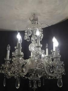 Lustre à Pampilles : lustre a pampilles en cristal de boh me la boutique opio ~ Teatrodelosmanantiales.com Idées de Décoration