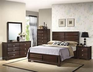 B310, Bedroom, Set, In, Espresso, W, Options