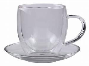 Teetassen Aus Glas : 2er set edle doppelwandige glas thermo tassen bullini 250ml mit untersetzer ~ Buech-reservation.com Haus und Dekorationen