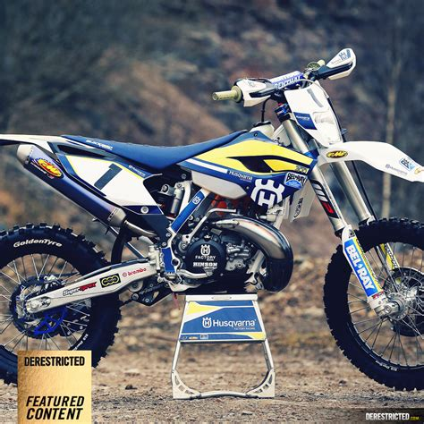 Husqvarna Tc 65 4k Wallpapers by 2015 Husqvarna Enduro Team Derestricted