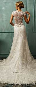 Amelia sposa 2014 wedding dresses belle the magazine for Lacy wedding dresses