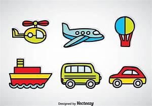 Transportation Vehicle Cartoon Vector - Download Free ...