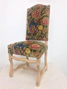 Chaise Louis Xiii : chaise louis xiii bois en os de mouton tapisserie ~ Melissatoandfro.com Idées de Décoration