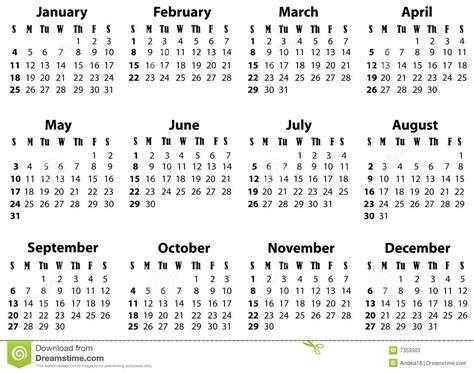 een kalender voor en stock afbeelding afbeelding bestaande