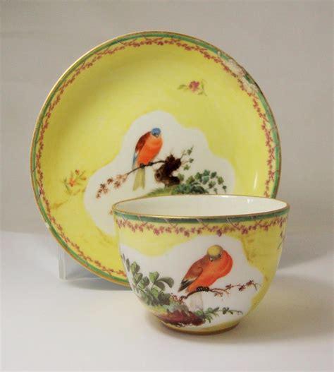 Loosdrecht High Tea by Rare 18th Century Loosdrecht Porcelain Tea Bowl Saucer