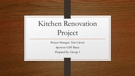kitchen remodel project plan kitchen renovation project