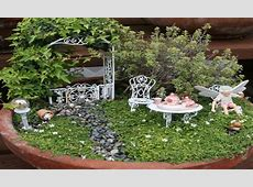 Fairy garden crafts, fairy garden craft whimsical garden