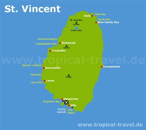 St. Vincent - Karibik Reiseführer