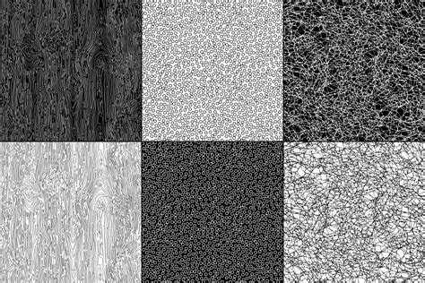 black and white natural textures Download Free Vectors