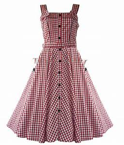 robe hell bunny annee 50 vichy chantal rouge blanc With robe année 50 amazon