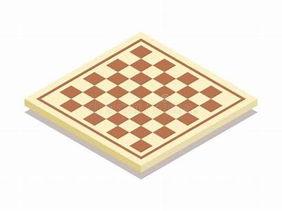 Chess Vector Illustration Isometric Flat Icon Strategy