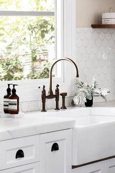 tile or wood in kitchen fish scale tiles tiled kitchen splashback ideas 8500