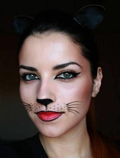 hase schminken erwachsene fasching schminken welche grundregeln sollte beachten diy fasching schminken katze