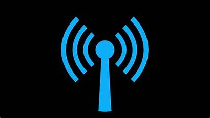 Symbol Animation Radiation Non Wifi Internet Connection