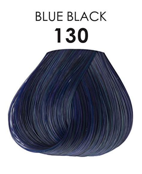 adore semi permanent haircolor  blue black  ounce