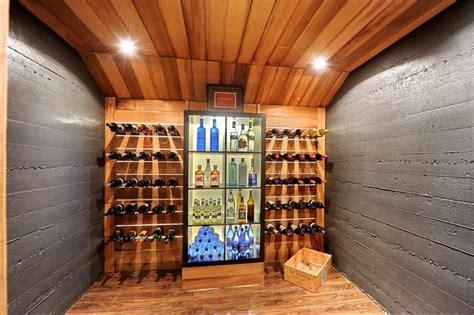 Modern house remodel   Modern   Wine Cellar   montreal