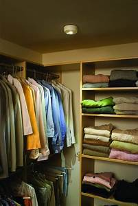 10 affordable wireless closet lighting solutions With wise ideas for installing closet light fixtures
