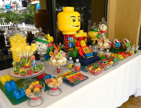 Lego Party Birthday Party Ideas  Photo 3 Of 19  Catch My