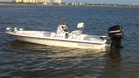 Shearwater Boats by 2005 Shearwater Boats 22 Bay Boat Excellent Condition