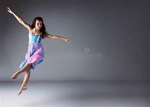 Female modern dancer stock image. Image of jumping, motion ...