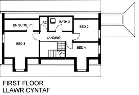 ffynnon  bedroom timber frame dormer bungalow