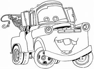 How to Draw Tow Mater from Disney Cars Movie - How to Draw ...