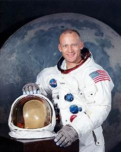 031 NASA Apollo 11 Astronaut - Edwin Buzz Aldrin