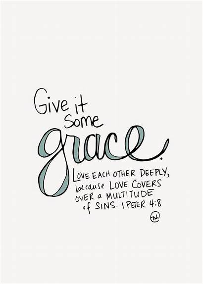 Grace Quotes Printable Bible Give Verses Verse