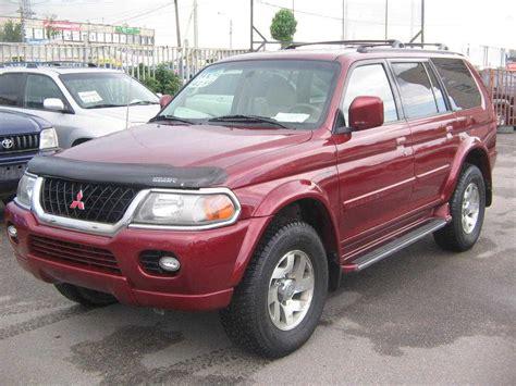 Mitsubishi Montero Sport 2000 by 2000 Mitsubishi Montero Sport Pictures 3 5l Gasoline