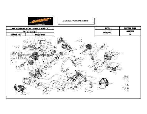 Stihl Fs55r Parts Manual