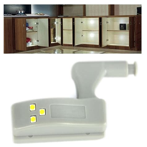 battery lights for kitchen cabinets battery powered hinge led light for kitchen bedroom 9079