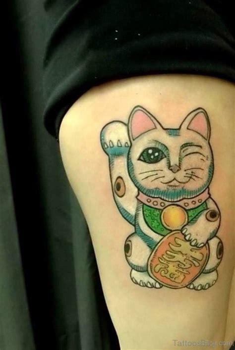 unique cat shoulder tattoos