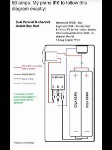 Dual Parallel Mosfet Box Mod Diagram