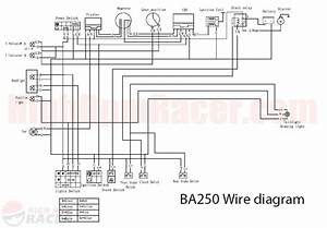 Honda Four Stroke Dirt Bike Wiring Diagram