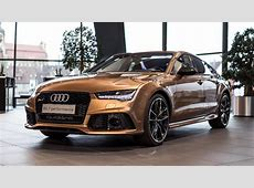 "Audi Exclusive ""Zanzibar Braun"" RS7 Looks Aggressively"