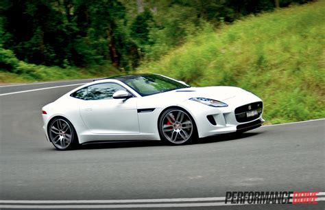 jaguar  type  coupe review video performancedrive