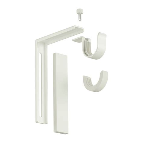 ikea betydlig curtain rod holder and wall ceiling